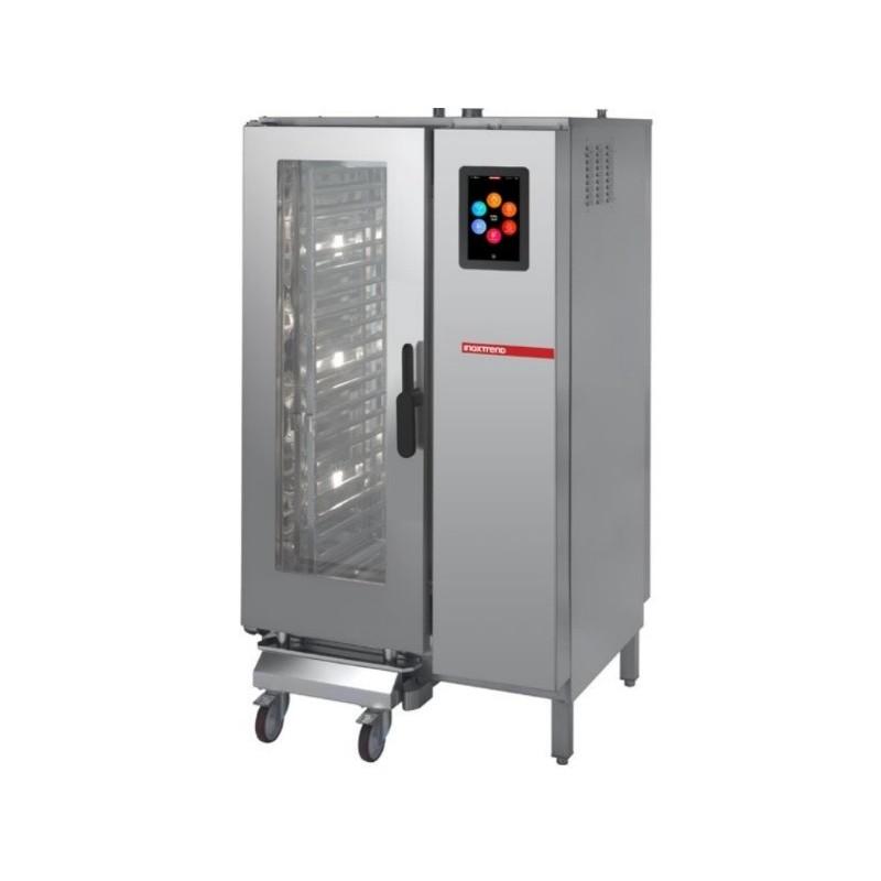 Cuptor gastronomie, 20 tavi GN2/1, touch, boiler