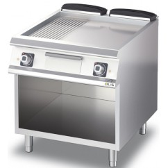 Fry-Top electric neted/striat, linia Diamante 70