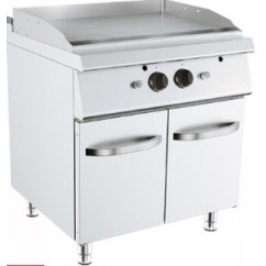 Fry-Top, Linia 90, alimentare gaz, neted