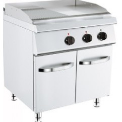Fry-Top, Linia 70, alimentare electrica, neted/striat