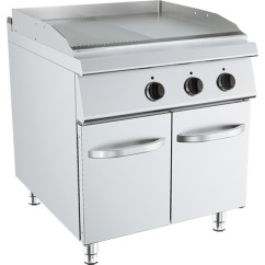 Fry-Top, Linia 90, alimentare electrica, neted/striat