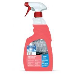 Sanitec Sgrassacciaio Curatare Inox 750Ml